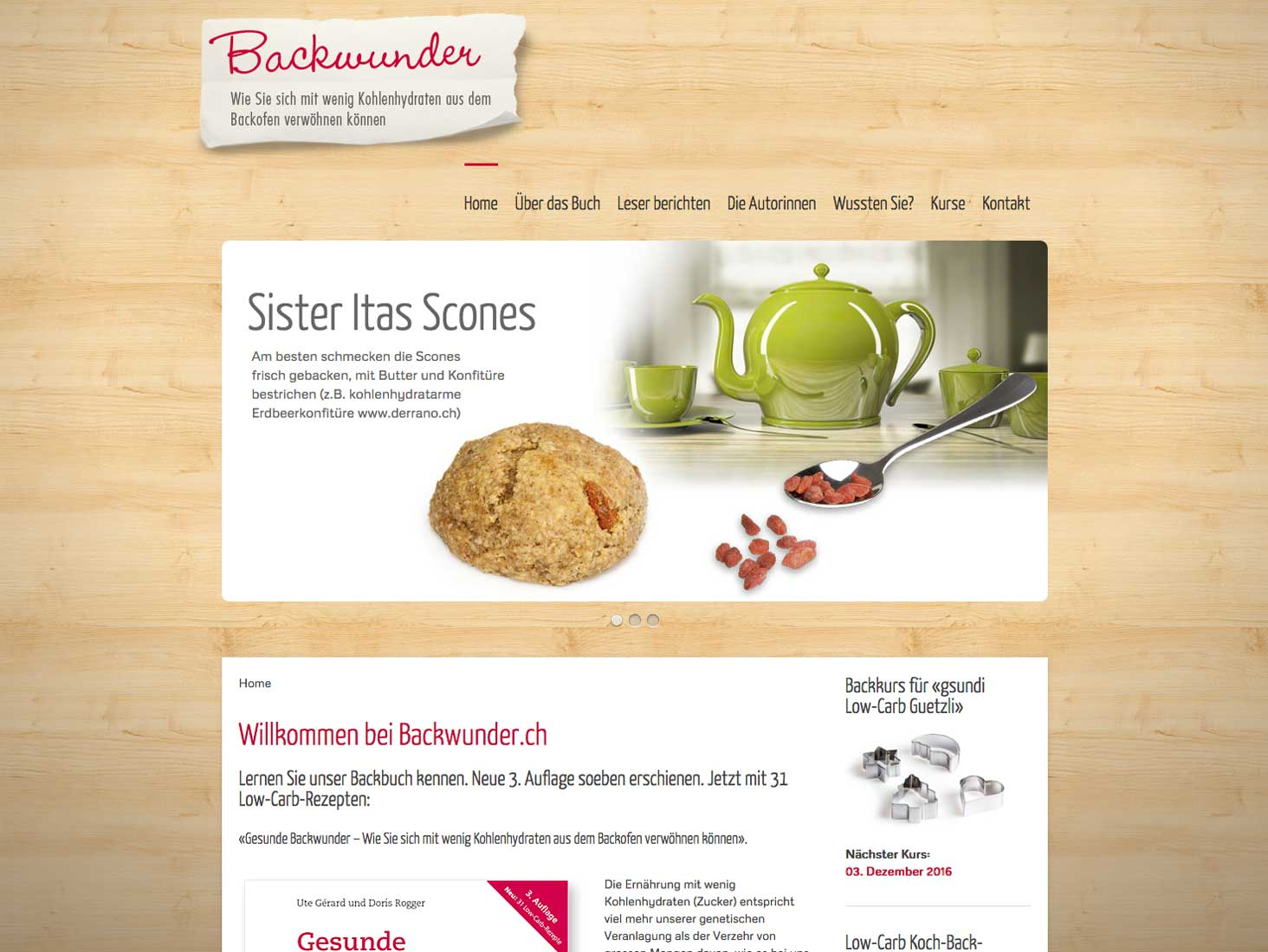 Backwunder Website