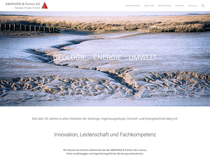 Eberhard & Partner AG Website Relaunch